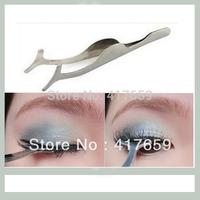 10pcs Beauty Tools Multifunctional False Eyelashes Stainless Auxiliary Clip Tweezers Free shipping
