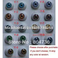 9 Pair 12mm HALF ROUND ACRYLIC REBORN DOLL EYES for Reborn/BJD/OOAK Doll eyes