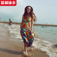 Free shipping!Bohemia beach dress long maxi skirts for women