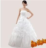 Tube top 2013 princess sweet wedding dress