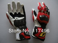 RS Taichi Racing Motorcycle Leather Gloves Carbon sports motorbike racing gloves Red
