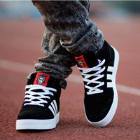 Winter plus cotton lovers shoes male Women high skateboarding shoes hiphop fashion shoes