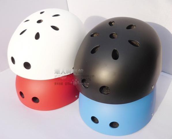 New style BMX helmet / roller skating helmet / BBOY hip-hop helmet black white red blue scrubs helmet(China (Mainland))