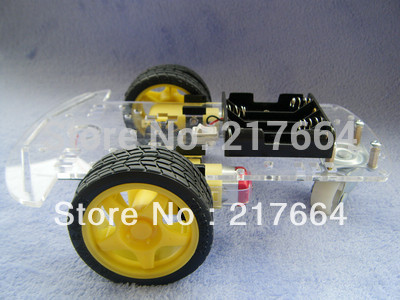 Smart Robot Car Chassis Kits Arduino car with Speed Encoder Battery Box(China (Mainland))