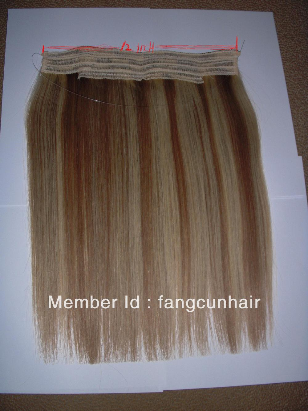 Kanekalon flip in hair extension(China (Mainland))