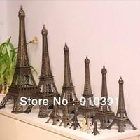 Free ship/EMS,10cm France paris souvenir Retro metal crafts 3D Eiffel Tower,Bronze French la tour effel as personal collection.