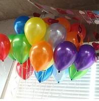 Free Shipping Wholesale 10 Inch  Latex Balloons, Wedding Decoration Balloon, Party Balloon 50 Pcs/Lot