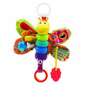 Lovely Musical Baby Musical Inchworm Plush Toy Toddler Infant kids toys Fly Honey Bee Toys /Lamaze Wrist Rattles1pcs/lot