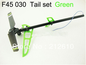 Free shipping F45-030 Tail set green/red for f45 rc helicopter mjx rc helicopter f45 spare parts free shipping
