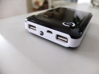 Dual USB 2A Mobile Power Supply 18650 Battery Charger box For ipad 2/3 iphone