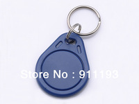 100pcs/bag RFID key fobs 125KHz proximity ABS key tags/for access control with ATMEL T5577 chip