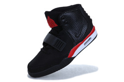 free shipping 2013 Air Yeezy 2 black red basketball shoes for men(China (Mainland))
