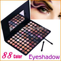 Wonderful Pro 88 Matte/pearl Eye Shadow Makeup Palette Eyeshadow Kit