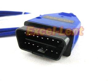 Free shipping!2pcs/lot,USB Cable Car Diagnose tool for KKL VAG 409.1 VW/AUDI OBD2 OBD OBDII COM Scanner Free Shipping