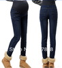 Wholesale - 2013 New Spring Fashion Pencil pants Maternity jeans Pregnant women Jeans Casual Maternity abdominal pants #YZ078