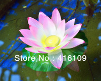 Free shipping 2013 the latest Lotus lanterns wishing lamp/new river light, higher non-paper simulation, a more popular!