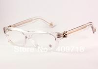 Free shipping Hot sell Brand Acetate eyeglasses men's/women's Designer T-NUC Clean optical glasses 52mm