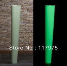 Luminescent/ Glow in the dak/photoluminescent PVC vinyl film 1m*50m(China (Mainland))