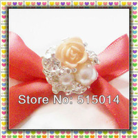 New Item!   Rose Floral  Rhinestone Brooch  for decoration,Collor Brooch Wholesale !