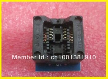 Free shipping 20PCS/LOT SOP Adapter SOP8 to DIP8 150Mil USB universal Progrmmer IC Socket for TL866CS/TL866A/EZP2010/G540/SP300