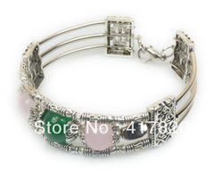 # POPULAR AROUND THE WORLD Free. Shipping Tibetan silver bracelet M J wholesale purchase.(China (Mainland))
