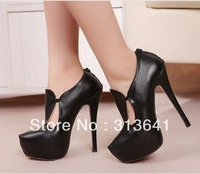new arrival platform fashion ladies high heel dress shoes women pumps wholesale free shipping