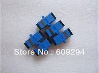 SC/UPC Fiber Optical Adapter Single Mode SX Fiber Optic Connentor 10pcs/lot