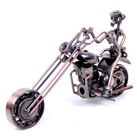 Metal motorcycle models male birthday gift