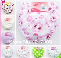 Free shipping (10 pieces/lot) 100% cotton children cartoon monkey-girl underwear