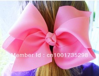30PCS 4.5''-5'' Pretty Girls Large Hair Grosgrain Ribbon Bows with Clips,Boutique Hair Fascinator Accessories for Kids /Children