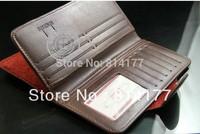 100pcs/lot Men's Business Wallet Card Protector (Black Red Brown Light Brown)