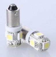 LED Car Indicators Light Interior Bulbs Wedge Lamp BA9S 5SMD 5050 Free shipping