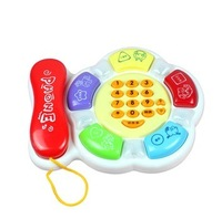 Story Telling Telephone Baby Toy Music Phone Color 5033