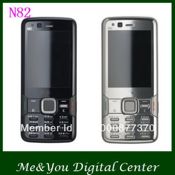 N82 Original N82 GPS WIFI 5MP GSM Unlocked Mobile Phone FREE SHIPPING(China (Mainland))