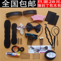 2012 hair accessory set hair maker set hair maker tools combination meatball head