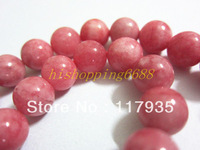 Mini order 12USD, Wholesale 10mm Pink Morganite Round Hot sell Loose Beads 38 pcs/lot A fashion jewelry beads jewelry making