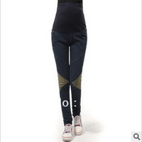 Wholesale -- 2013 New Spring Korean Fashion trousers Maternity jeans Pregnant women Jeans Maternity Pants feet M L XL XXL #YM351
