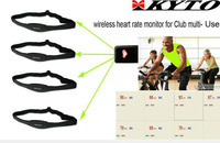 Club heart rate chest strap/ Multi user heart rate belt/ team system( 1 USB receiver+10 belts)
