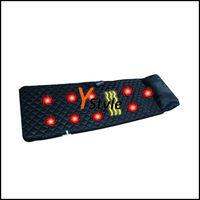 1PCS Free China Post Vibrating Massage Mattress Massage Chair Cushion with 9PCS Vibrating Motors & Far Infrared Heating Massager