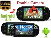 4GB Andriod4.0  touch Screen MP3 MP4 MP5 Player Game Player with WIFI HDMI Double camera Games Console