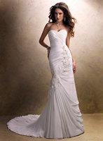 MGM02901 Off the Shoulder Chiffon Bride Wedding Gowns 2013