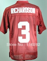 Alabama Crimson Tide Trent Richardson 3 Crimson College Football Jersey free shipping accept mix order