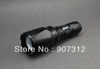 Yezl T9 CREE XM-L T6 1x18650 Zoomable Flashlight Big Head Flashlight