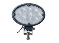 FREE SHIPPING!!!  Oval 27W CREE LED Work Light For 4x4,Suv,Truck,Mining , led worklight 12v & 24v, led offroadlight.
