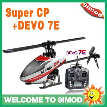 Walkera Super CP with DEVO 7E Mini 3D RC Helicopter