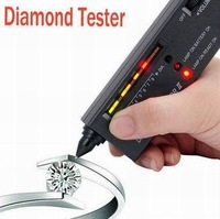 Wholesale Free Shipping High Quality New Diamond Tester Gemstone Selector II Gems LED Precision Indicator Jewelry Tool