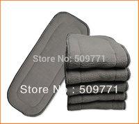 Super Quality 5 layers Bamboo Charcoal inserts 30pcs