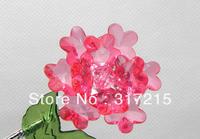 blue flower home decoration Modern fashion european crystal flowers artificial flowers wholesale & retail 3pcs/lot A03-A9