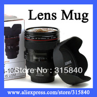 1pc New 2014 New Lens Mug Travel Coffee Mug Camera Canam Cup Drinkware Cups --  DL64 Wholesale & Retail