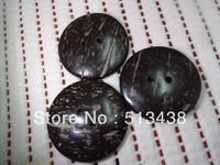 100pcs lot 50mm huge round nostalgic natur coconut buttons,Woman coat sewing/scrapbook/craft/Cardmaker
